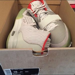 adidas Shoes - Air yezzy 2 size 10 text me @ 3137444356